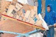 Imagen de referencia de un reciclador