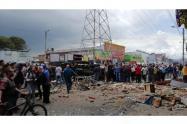 Explosión en la Avenida Rojas