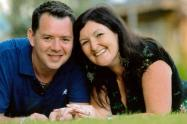 Chris Mallon y su esposa