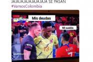 Memes Colombia vs Chile