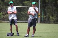 Juan Carlos Osorio y Pompilio Páez