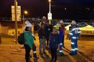 Varias familias evacuadas