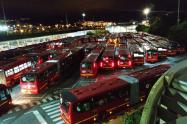 Nuevos buses Transmilenio