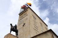 Monumento Los Héroes / Esculturas de Bogotá / Patrimonio de Bogotá / Estatuas de Bogotá