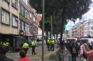 Momentos de pánico se vivieron en el norte de Bogotá