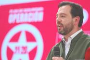Carlos Fernando Galán candidato a la alcaldía de Bogotá