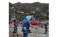 Así fue el daño ambiental en Santa Marta.