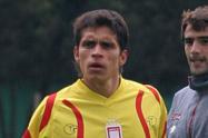 El futbolista bogotano Kilian Virviescas.