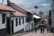 La Candelaria, centro de Bogotá.