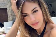 La modelo tenía una relación sentimental con un actor venezolano.