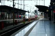 Tren arrolla a niño en Alemania