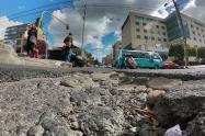 Huecos  / Bogota / vias / daños via