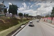 Accidente en avenida Boyacá