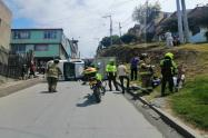 Accidente en La Candelaria