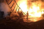Incendio en Soacha imagen de referencia