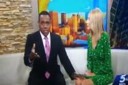 Presentadora de TV compara a su compañero negro con un gorila