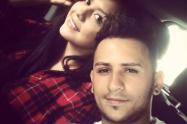 Richard Muñoz y su esposa