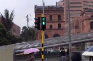 Bogotá ahora tendrá semáforos peatonales con contador.