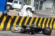 Accidente de moto en Suba imagen de referencia
