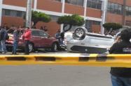 Accidente en zona industrial de Puente Aranda