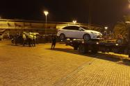 Comparendos vehículos Movistar Arena Bogotá