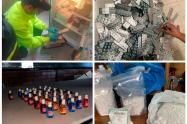 Esta actividad ilegal les dejaba 1.200 millones de pesos en ganancias en el año.