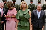 Ivanka Trump y ministro Botero