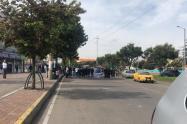 Paro de transportadores en Bogotá