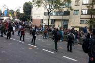 Protestas en la Universidad Distrital