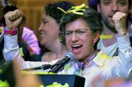 Claudia López, nueva alcaldesa de Bogotá.