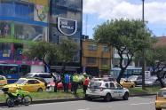 Agresión contra campaña de Miguel Uribe