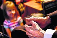 La Ley del Veterano beneficia a los abuelitos del las FF.MM.
