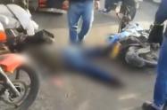 Muere motociclista en la av. Ciudad de Cali