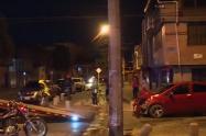 Accidente en Fontibón