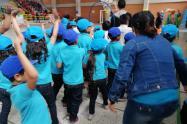 Menores atendidos por la Acaldía de Bogotá