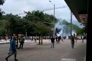 Disturbios en la Universidad de Antioquia