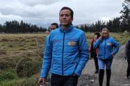 Juan Carlos Saldarriaga, candidato en Soacha