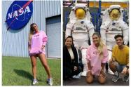 Karol G visitó la NASA