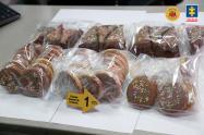 Las galletas y tortas hechas con marihuana y descubiertas por la Fiscalía