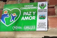 Jardín infantil 'Paz y Amor' en Bogotá