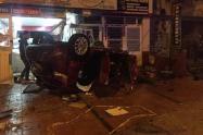 Accidente de tránsito en Zipaquirá