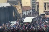 Comenzaron los disturbios en la Plaza de Bolívar
