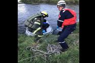 Encontraron sin vida el cuerpo de menor que cayó al río Bogotá