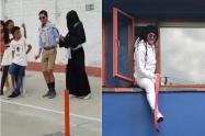 Estos son los trajes que más sorprendieron durante Halloween