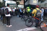 Flota mató a ciclista