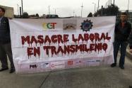 Protestas de conductores de Transmilenio
