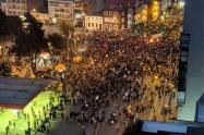 Protesta parque de los Hippies
