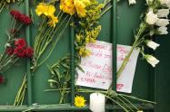 Amigos y Docentes rindieron homenaje a Dilan Cruz en el Colegio Ricaurte