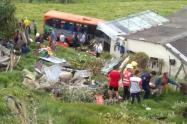 Accidente en vía La Vega-Bogotá, 14 de diciembre de 2019