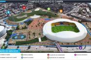 Remodelación del estadio El Campín.